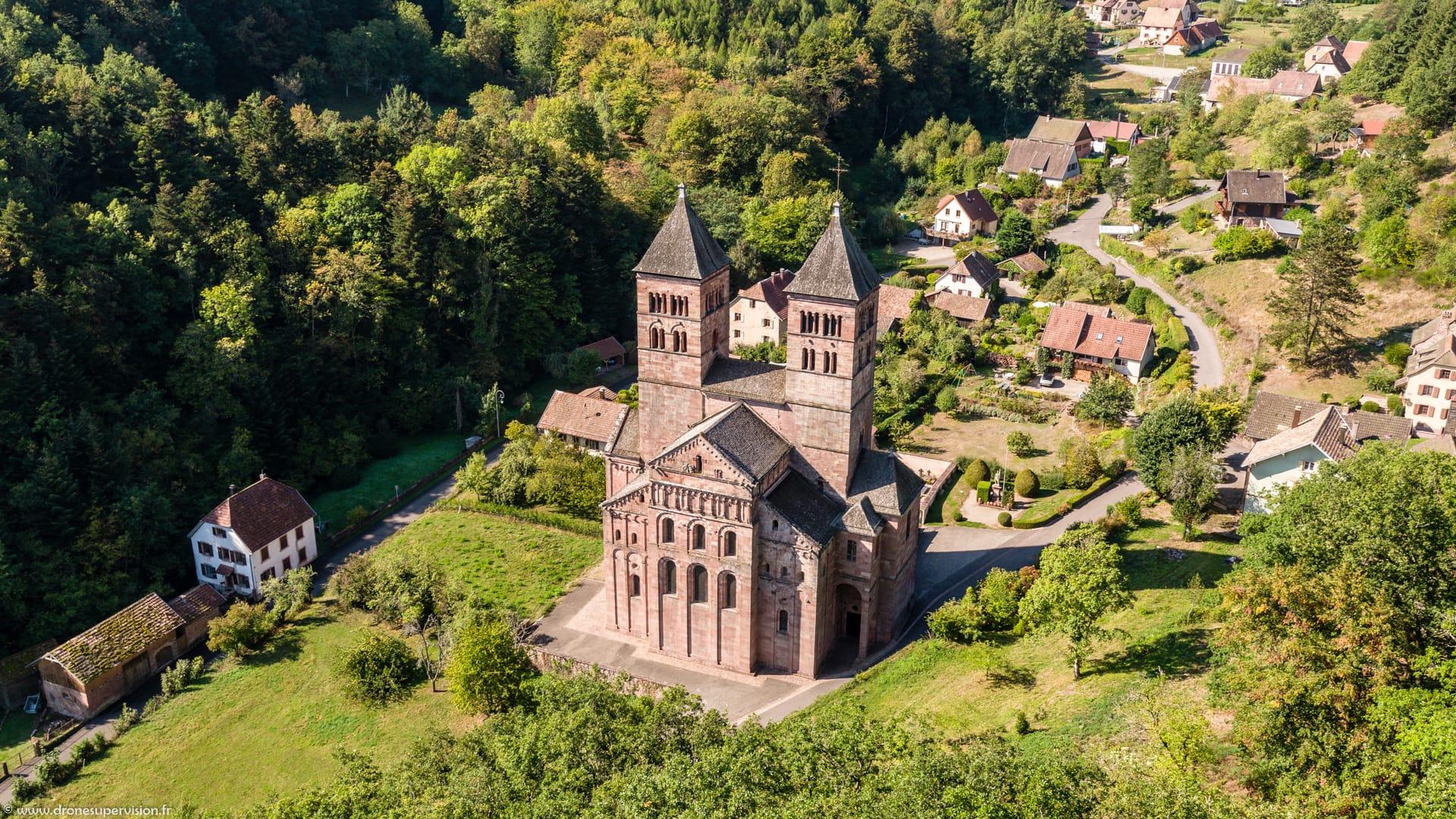 Abbaye Murbach - Drone Supervision - DJI_0355-1