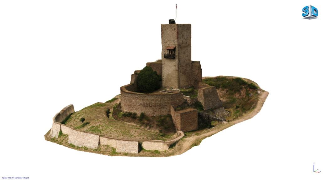 Modélisation 3D château